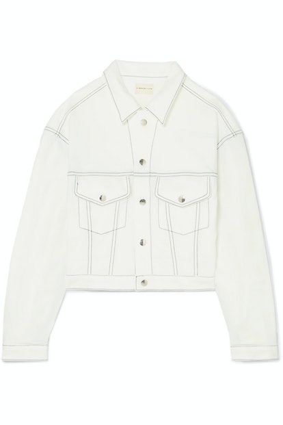 Morgo Cropped Cady Jacket