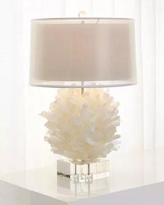 John-Richard Collection Selenite Table Lamp