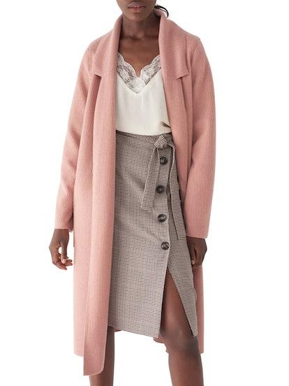 Bella Brushed Knit Duster Coat