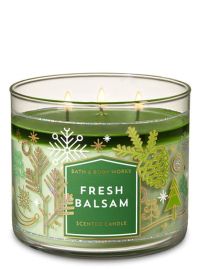 Fresh Balsam 3-Wick Candle