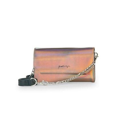 Kendall + Kylie Iridescent Oil Slick Belt Bag x Crossbody