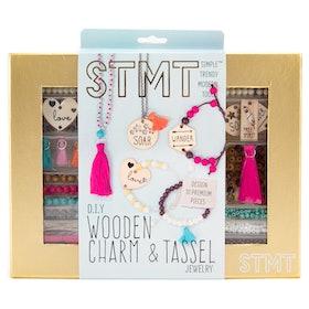 D.I.Y. Wooden Charm Tassel Jewelry Kit (14+)