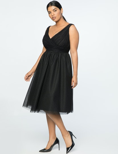 Jason Wu X ELOQUII Point D'esprit Dress