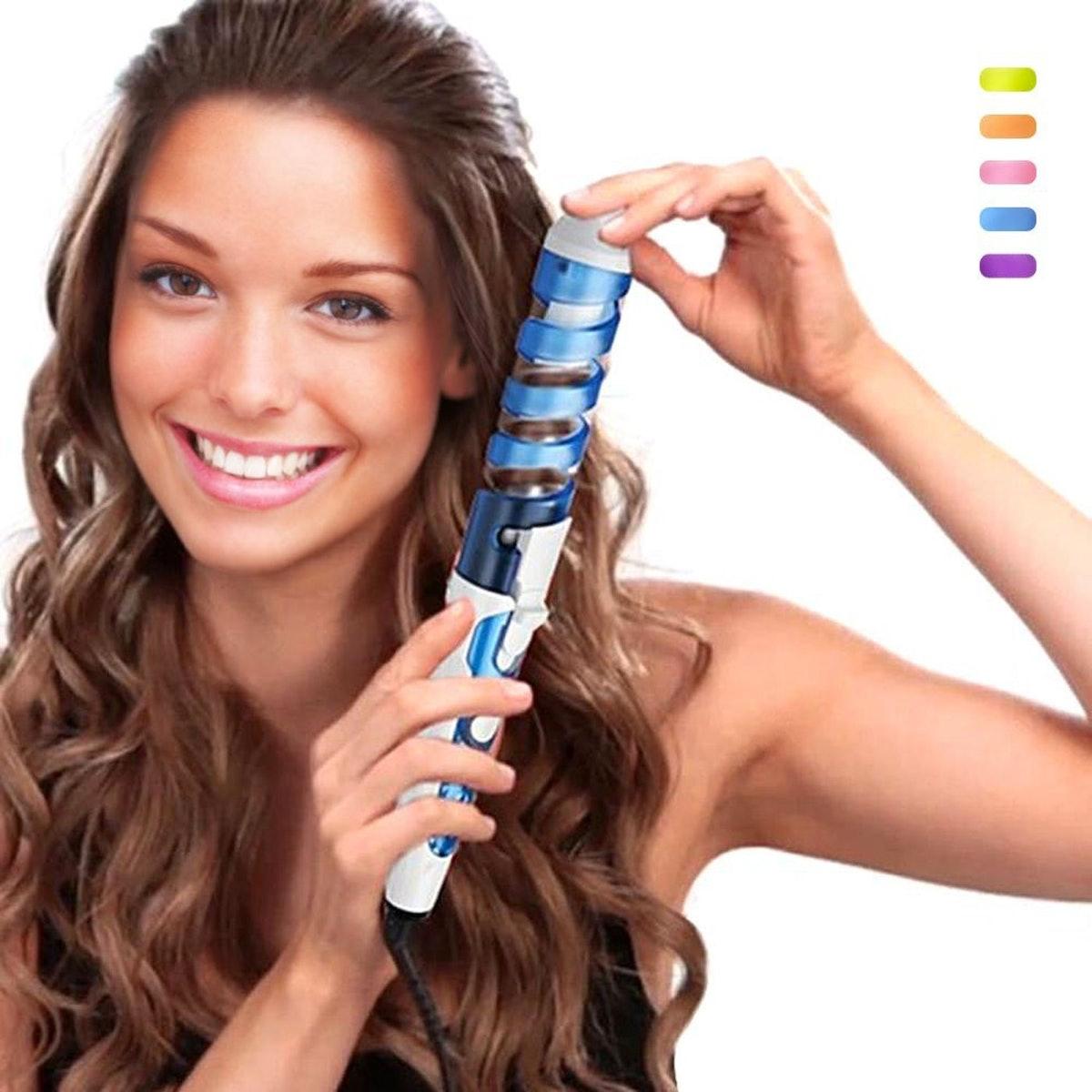 Ceramic Spiral Hair Curler