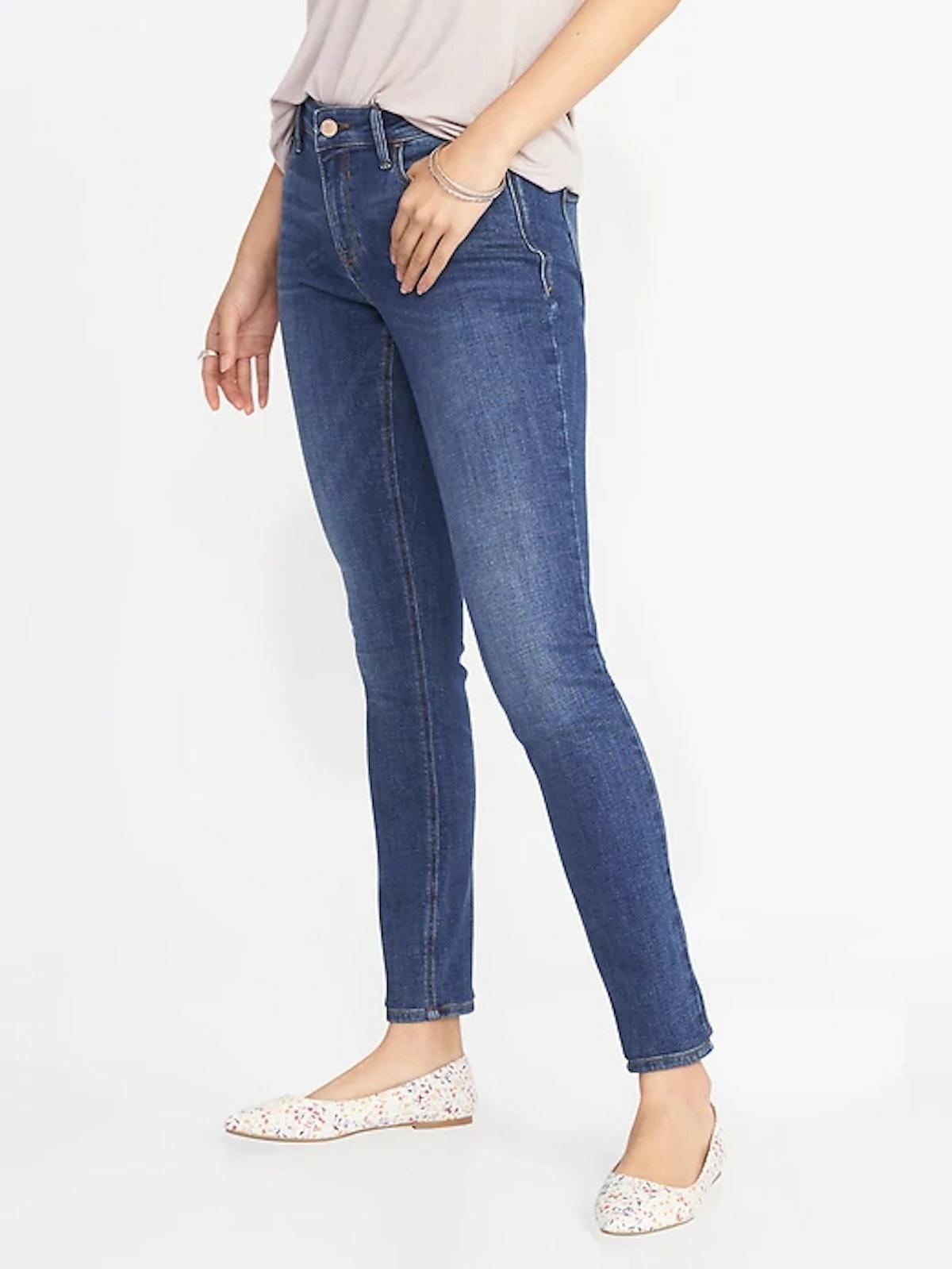 Mid-Rise Super Skinny Rockstar Jeans for Women