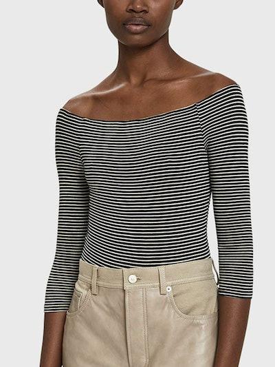 Julia Striped Bodysuit