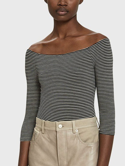 Julia Striped Bodysuit