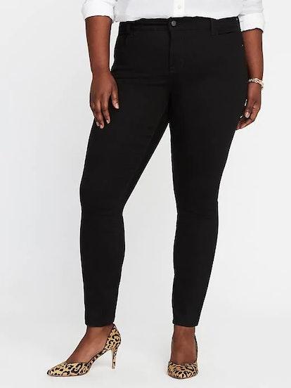 High-Rise Secret-Slim Pockets Plus-Size Rockstar Jeans