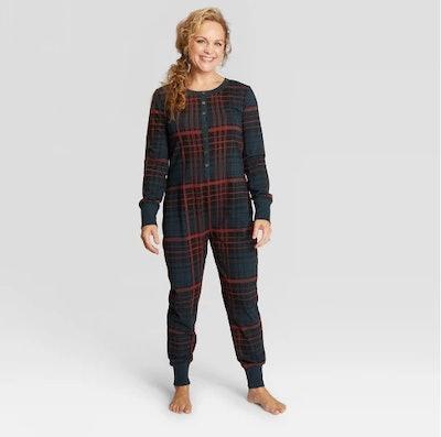 Woman's Plaid Holiday Pajamas