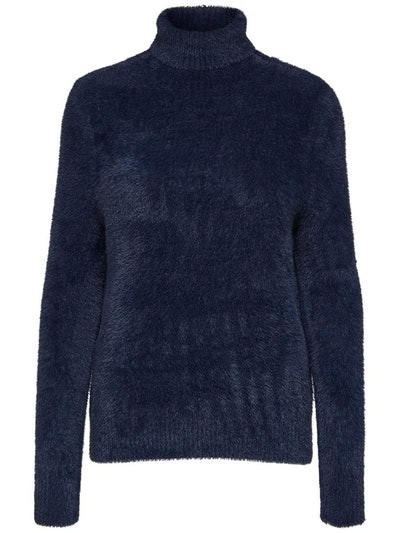 Fluffy Roll Neck Jumper