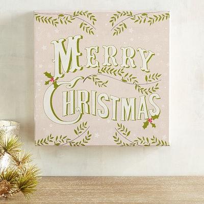 Merry Christmas Blush Small Art