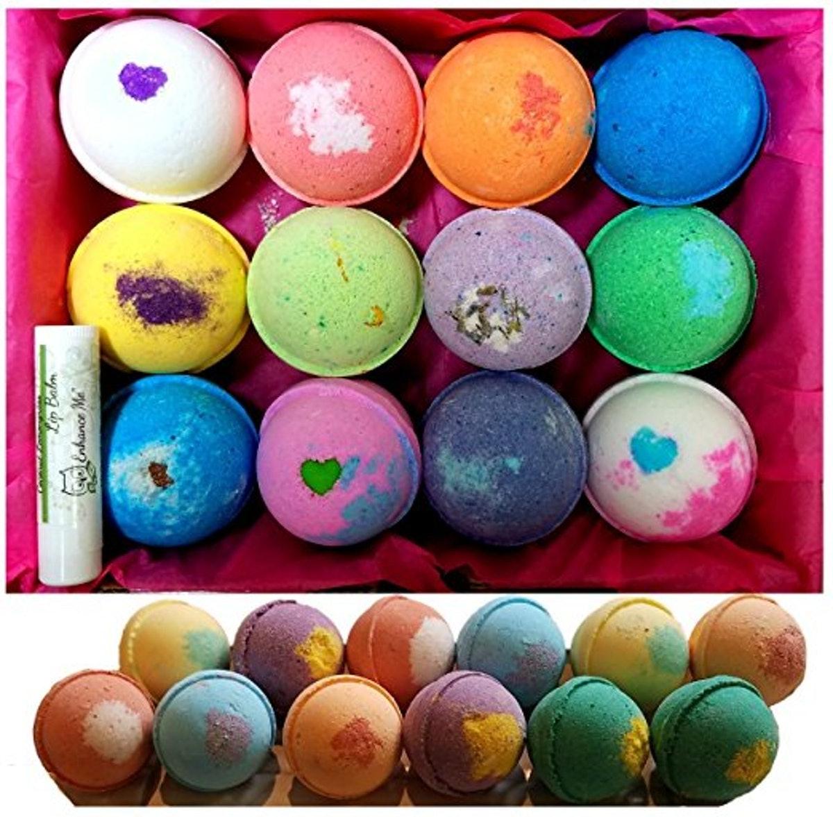 Enhance Me Bath Bombs Gift Set