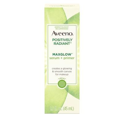 Aveeno Positively Radiant MaxGlow Hydrating Serum + Primer