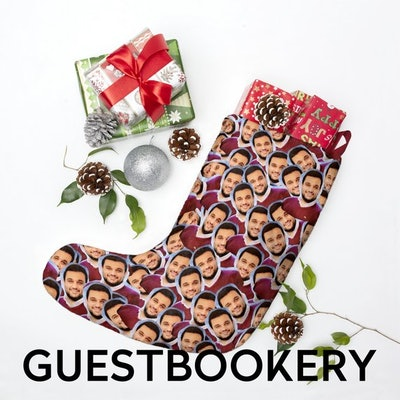 Faces Christmas Stocking
