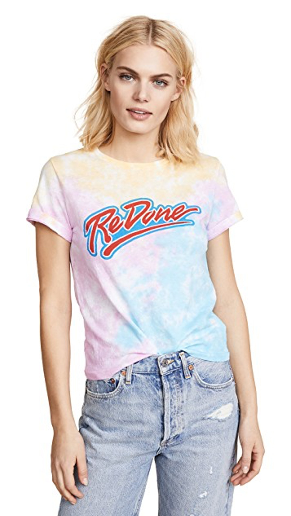 RE/DONE The Classic Logo Tee