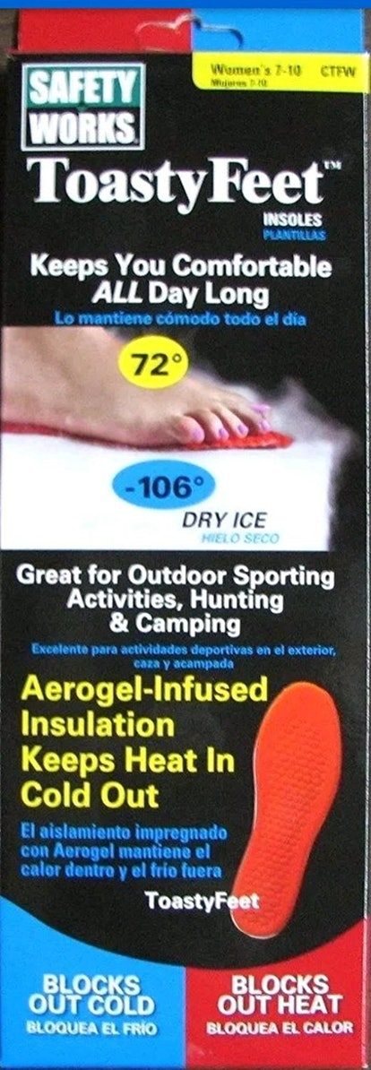 Toasty Feet Insoles (Women's Sizes 7-11)
