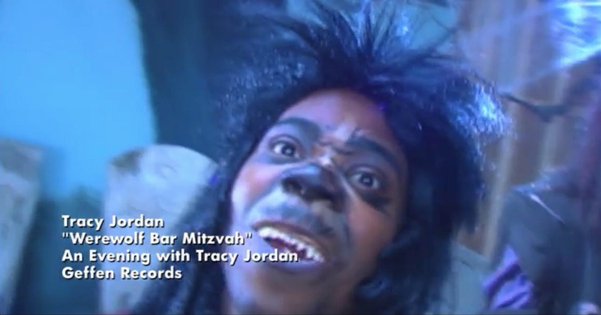 """Werewolf Bar Mitzvah"" From '30 Rock' Featured Donald Glover Doing An Impression Of Tracy Morgan"