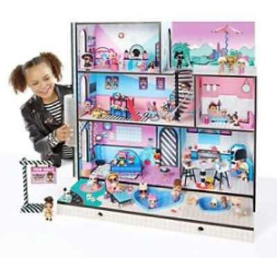 L.O.L. Doll House With 85+ Surprises