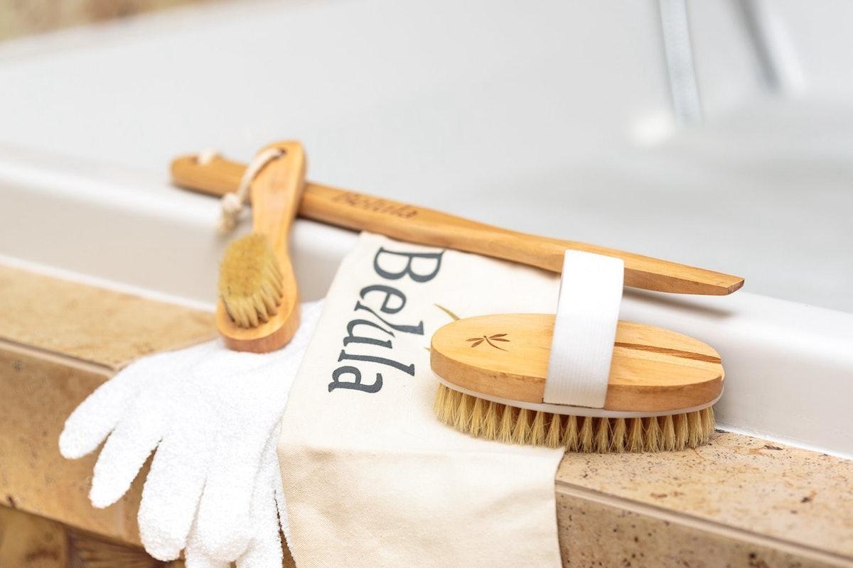 Premium Dry Brushing Body Brush Set