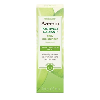 Aveeno Positively Radiant Daily Moisturizer with Soy
