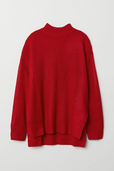 Knitted Turtleneck Jumper