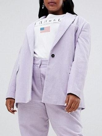 Cord Tailored Blazer