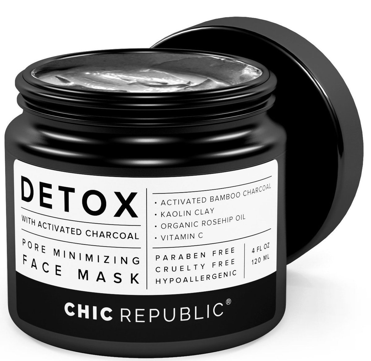 CHIC REPUBLIC Charcoal Clay Mask