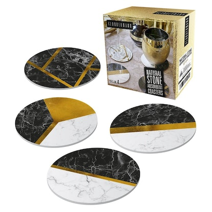 Natural Stone Absorbent Coasters