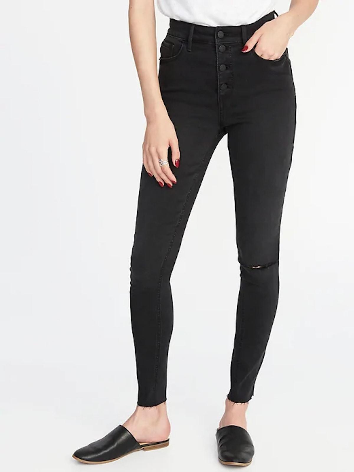 High-Rise Secret-Slim Pockets Rockstar Ankle Jeans for Women