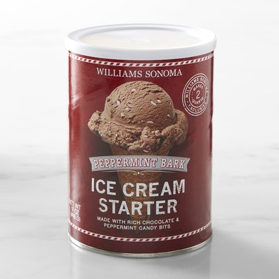Peppermint Bark Ice Cream Starter