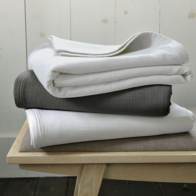 Organic Plissé Blanket