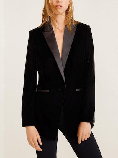 Velvet Suit Blazer