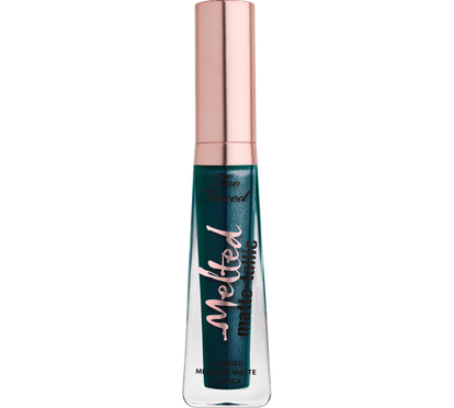 """Melted Matte-Tallic Liquified Metallic Matte Lipstick in """"The Real Teal"""""""