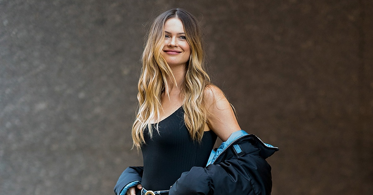 Behati Prinsloo's Black Bodysuit Is The Wear-With-Everything Basic You've Been Looking For