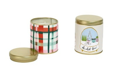 Opalhouse Wrapped Tin Candle
