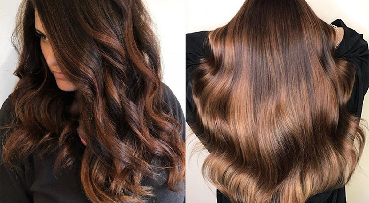 The Chili Chocolate Hair Color Trend Is The Latest Look For Brunettes Who Want To Spice Things Up