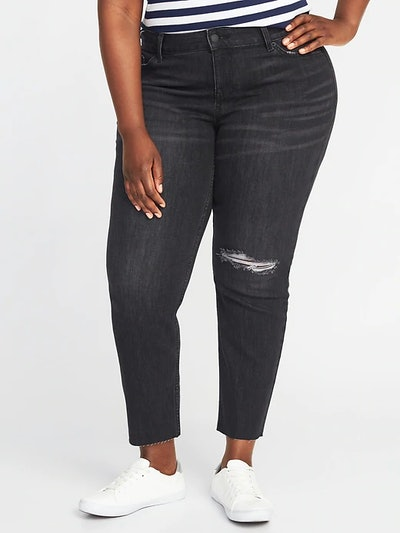 The Plus-Size Power Jean aka The Perfect Straight