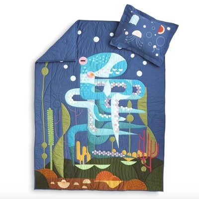 Outstanding Octopus Quilt & Sham Set