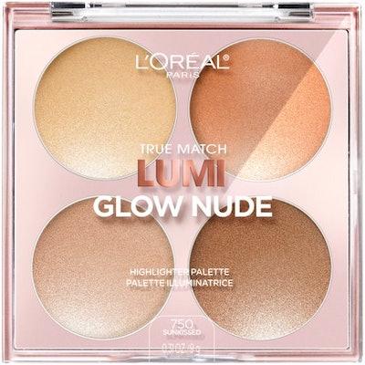 L'Oréal Paris True Match Lumi Glow Nude Highlighter Palette