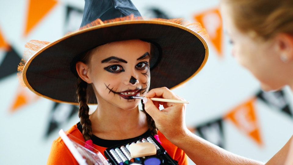 The Best Halloween Face Paints For Kids