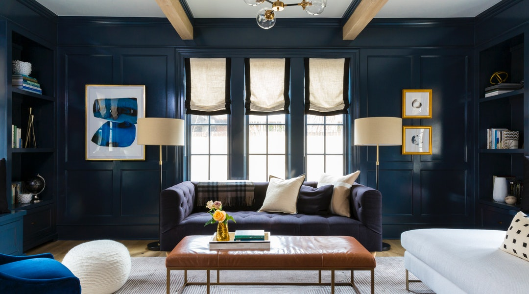 interior design living room accent walls