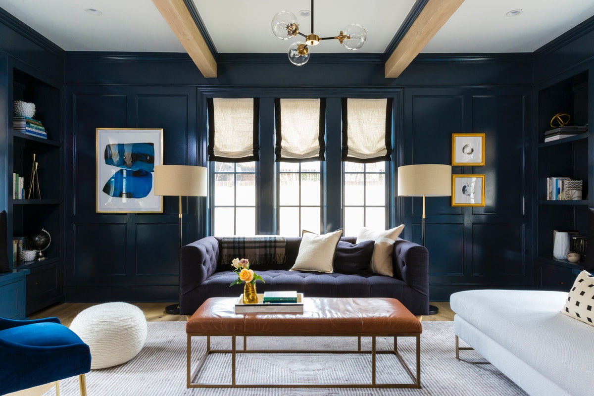 Picking An Accent Wall Color For Your Living Room Is Easier Than You Think — Just Ask These Interior Designers