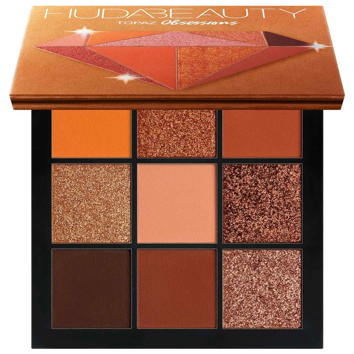 Obsessions Eyeshadow Palette Precious Stones Collection in Topaz