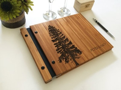 Pine Tree Guestbook