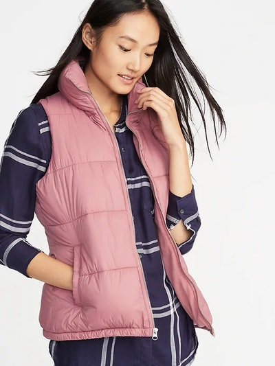 Frost-Free Puffer Vest