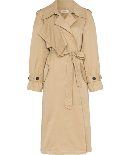 Wing Sleeve Trench Coat