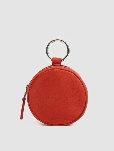 Circle Pop Pouch In Red