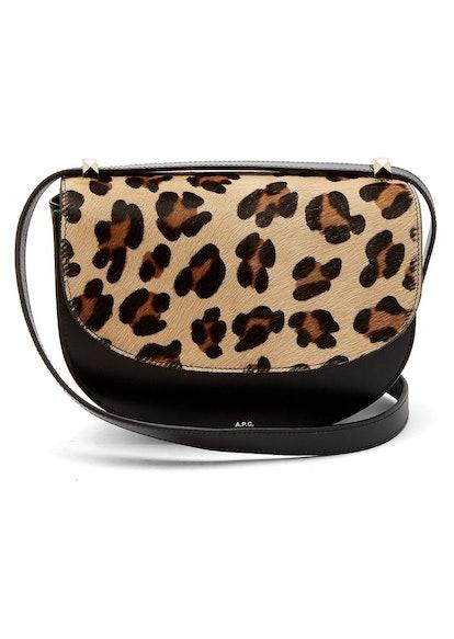Lausanne Leopard-Print Bag