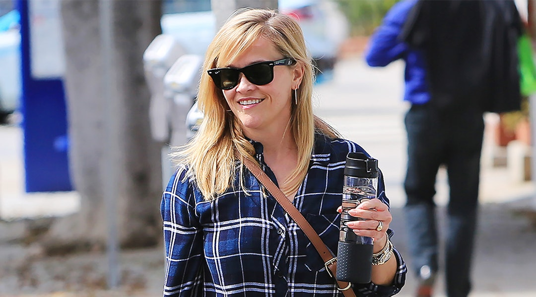 29157047c5ba Reese Witherspoon's Favorite Button-Down Shirt Is On Sale For 25 Percent  Off (But Not For Long)