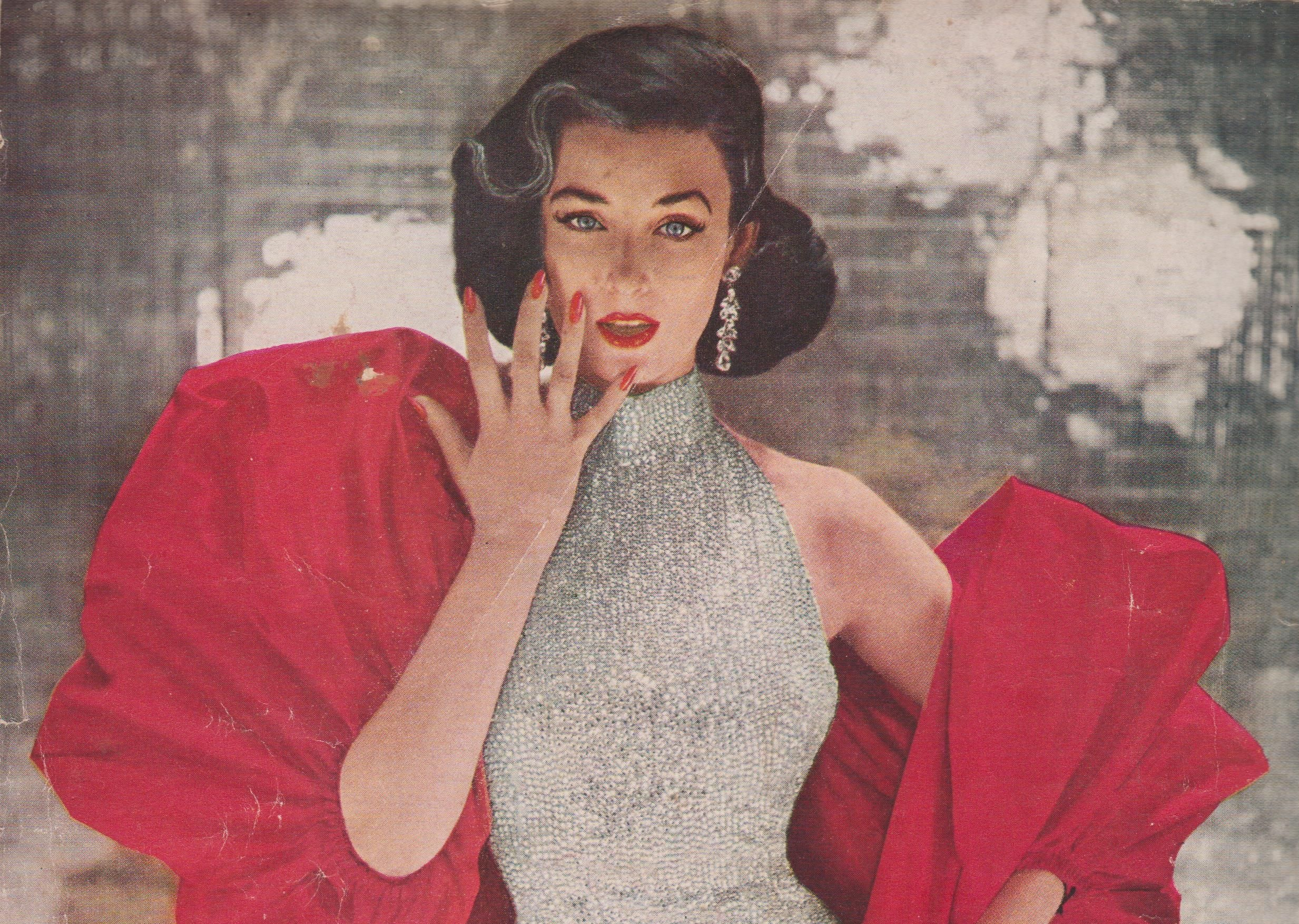 Revlon's Fire & Ice Campaign In 1952 Was The First Ad To